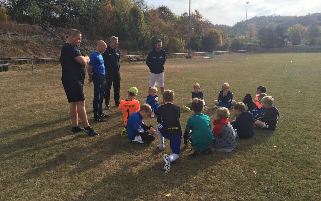 Training, Spaß und Teambuilding