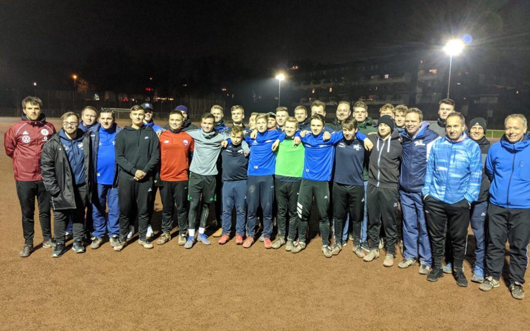 DFB-Trainerfortbildung am Erbstollen