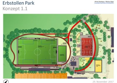 Gutachten Erbstollen Park Variante 1