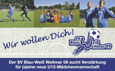 U13 Mädchen Team