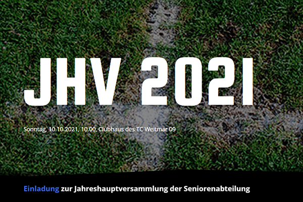 JHV 2021